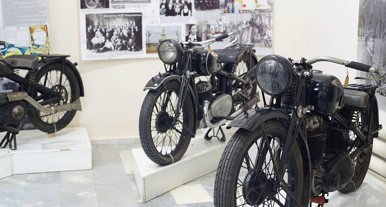 """Выставка """"Ижевские мотоциклы"""""""