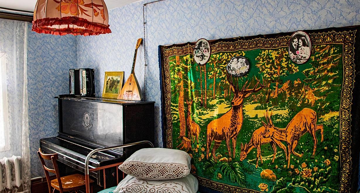 «Жилой дом. Интерьер 60-х годов» (Пушкинскаяы карта)