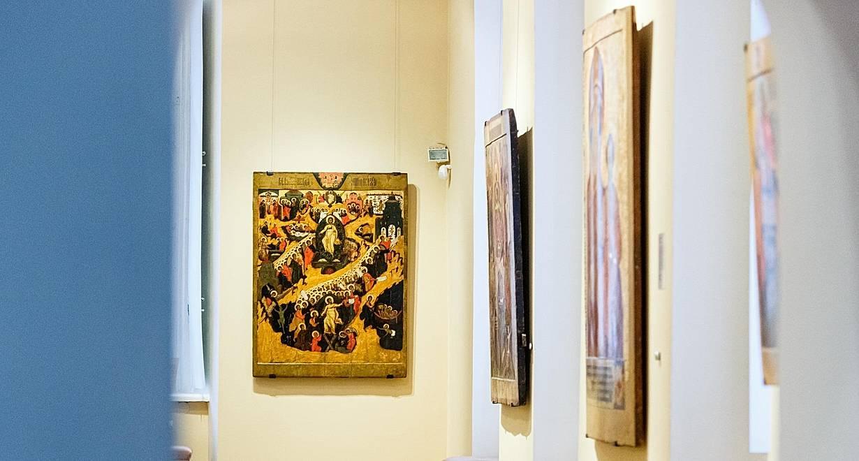 Экспозиция «Древнерусское искусство XIII–XVII веков»