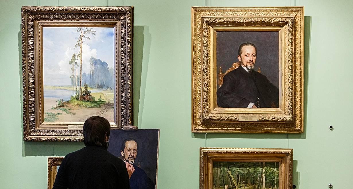 Экспозиция «Русское искусство XVIII–XX веков»