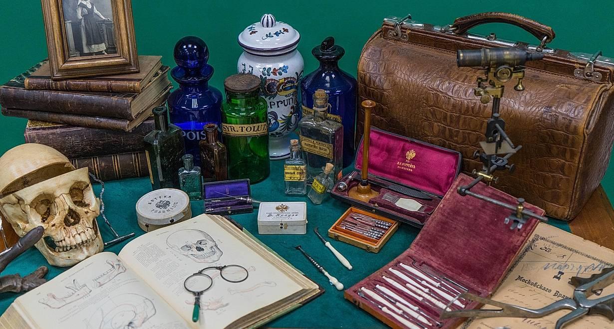 Экскурсия Аптечное дело 19 века