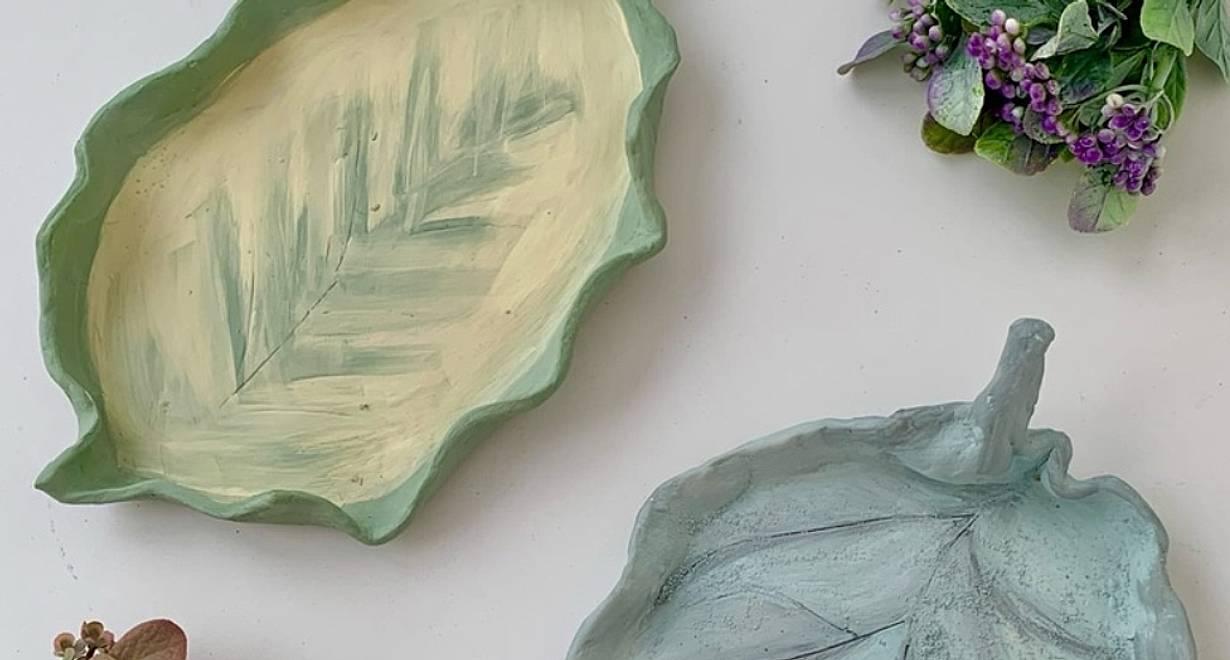 Творческая мастерская «Тарелочка-лист»