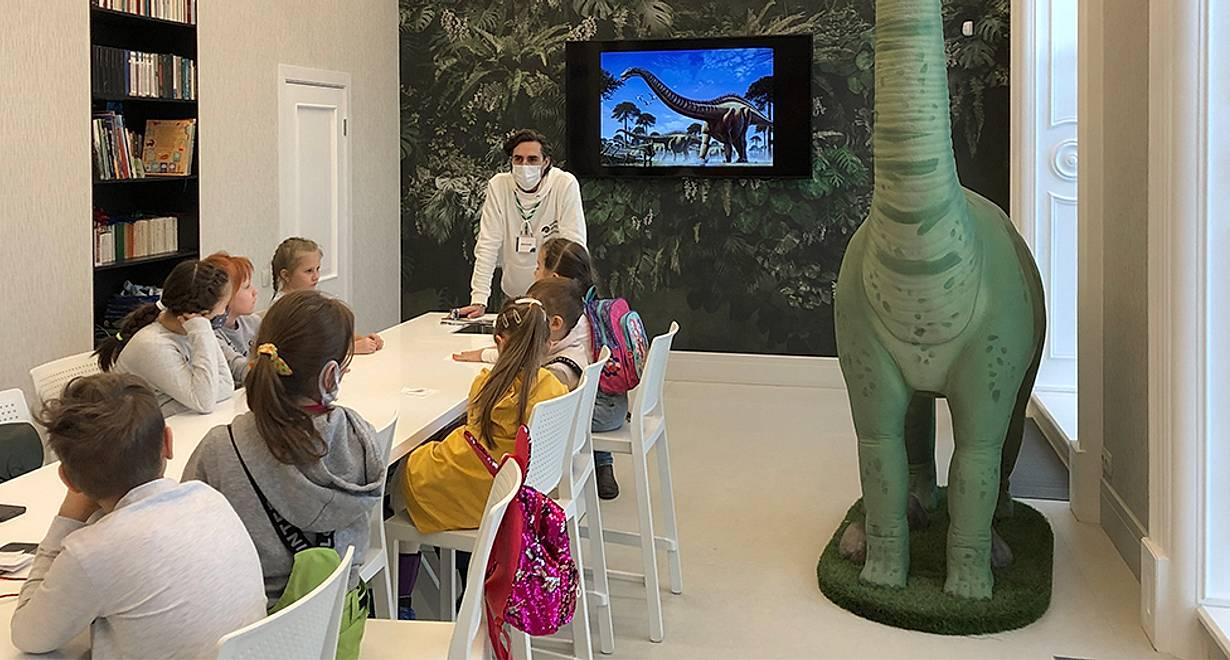 Палеонтологическое занятие «Почему исчезли динозавры?»