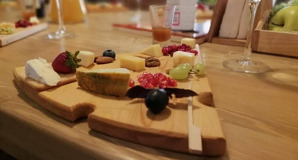 Интерактивная экскурсия с дегустацией сыров