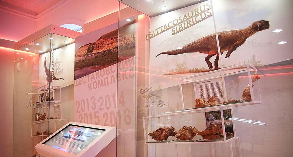 Экспозиция «Место Кузбасса на планете»