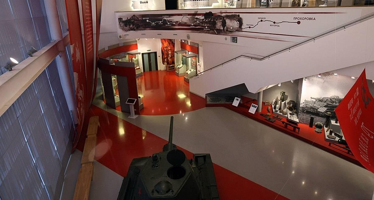 Экспозиция музея «Третье ратное поле России»