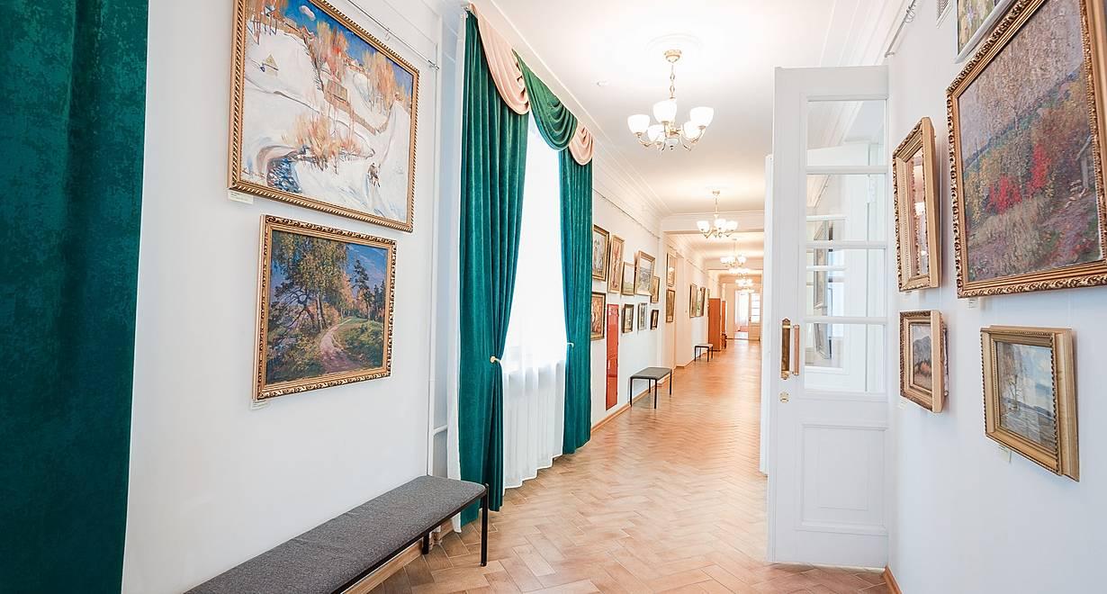 Выставочный зал им. А.М. Каманина