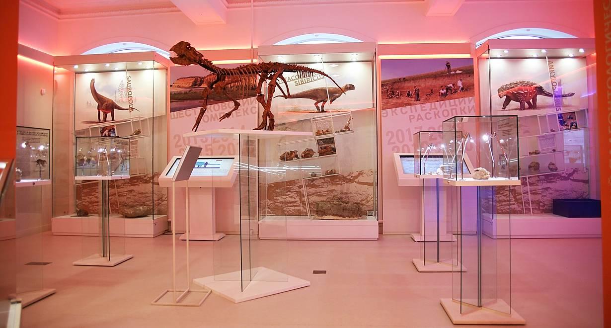 Кузбасский краеведческий музей, отдел природы